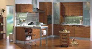 Muebles abatibles y de columna con horno integrado